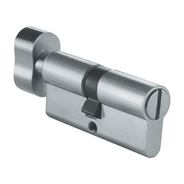 Lucca Euro Cylinder Lock - Slot and Knob