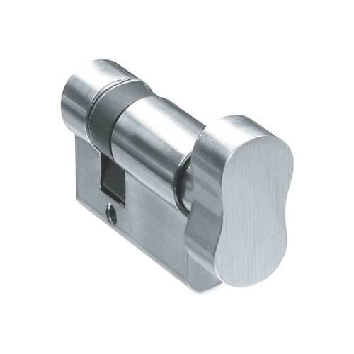 Lavos Euro Cylinder Lock - One Side Knob