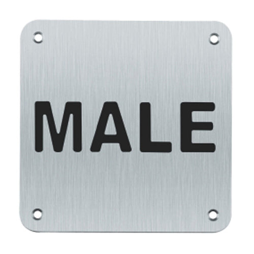 Male Sign (Written)