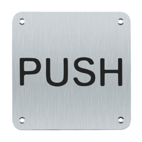 Push Sign (Written)