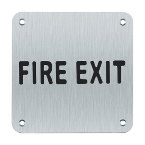 Fire Exit Sign (Written)