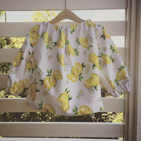 Lemon blouse