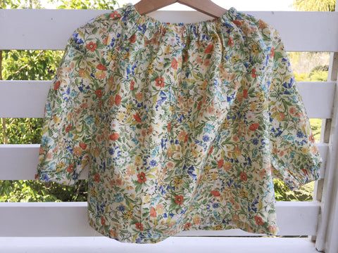 Storybook Floral Blouse