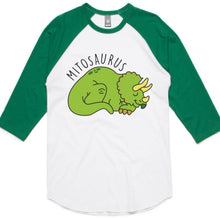 PJ Set: Adult's Mitosaurus Raglan and Grey Pants