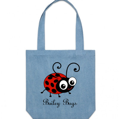 Bailey Bugs Large Tote