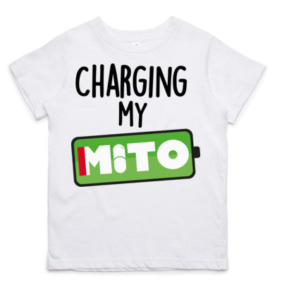 Charging My Mito Little Tee