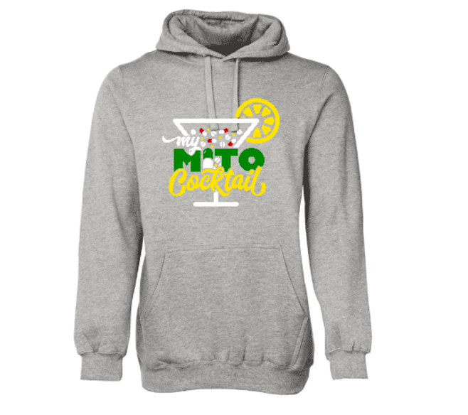 My Mito Cocktail Adult Hoodie