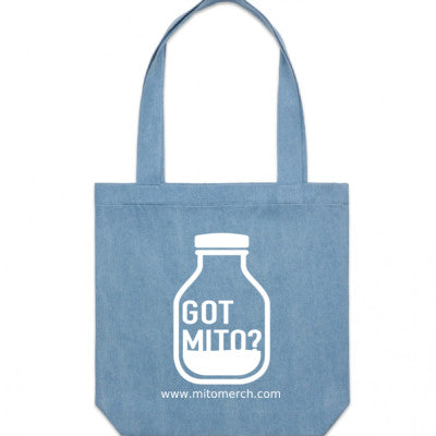 Got Mito? Large Tote