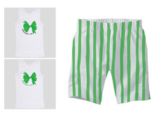 PJ Set: Little's Bow Singlet and Shorts
