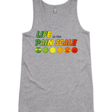 Life in the Pain Scale Women's Singlet