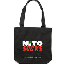 Mito Sucks Large Tote