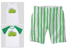 PJ Set: Little's Mitosaurus Top and Shorts