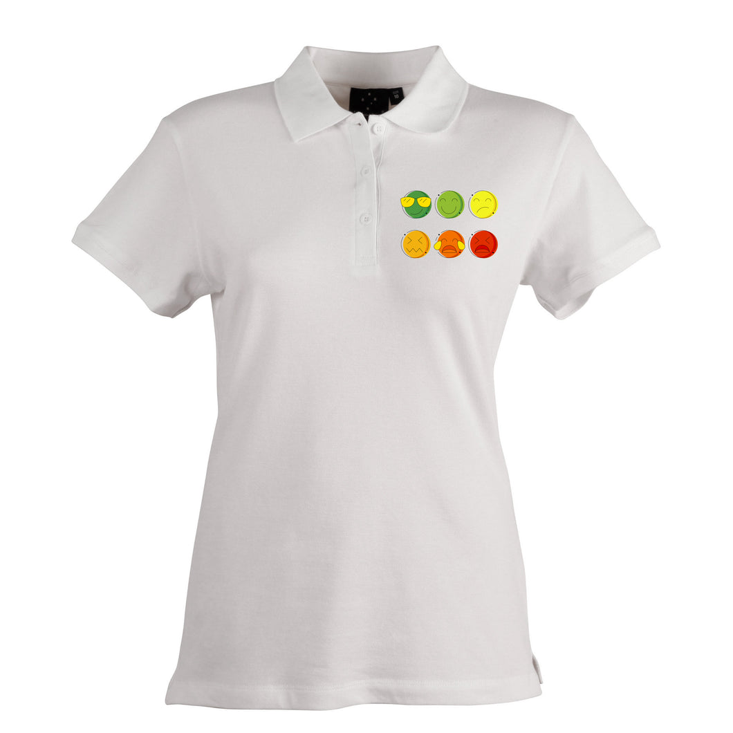 Life in the Pain Scale Women's Polo