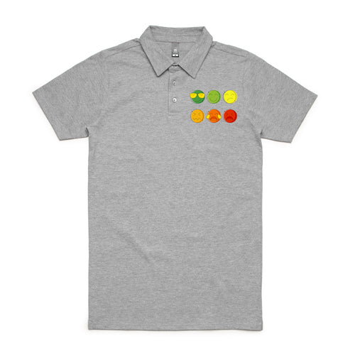 Life in the Pain Scale Men's Polo