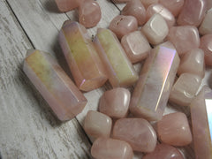 Angel Aura Rose Quartz