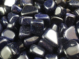 Blue Goldstone Tumbled 1pc