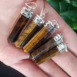 Tigers Eye Point Pendant