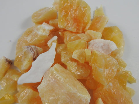 Yellow Calcite 3 lb portion