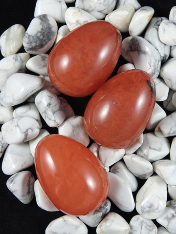 Cherry Quartz Egg