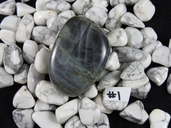 Labradorite Palm Stone (Various Sizes)