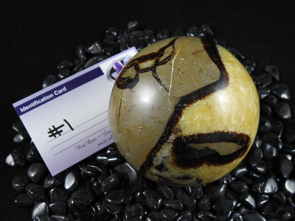 Septarian Gemstone Sphere (Various Sizes)