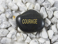 Word Stone (Create, Courage, or Clarity)