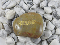 Word Stone (Energy, Friendship, Forever)