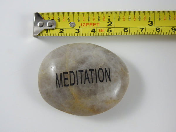 Word Stones (Meditation, Namaste, or Power)