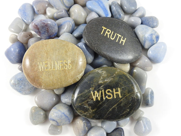 Word Stones (Truth, Wish, or Wellness)