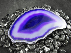 Brazilian Agate Slice (Various Colors)