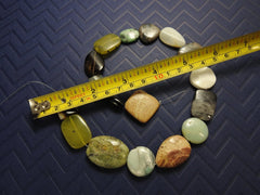 Mixed Stone Bead Strand (dyed & natural)
