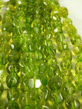 Green Quartz Bead Strand (Oval)