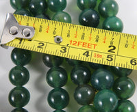 Green Agate (10mm Rounds) Bead Strand