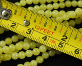 Serpentine (3-4mm Rounds) Bead Strand