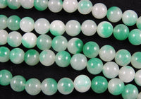 Enhanced Green Quartz (10mm Rounds) Bead Strand