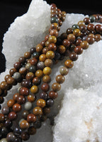 Brown Jasper (6mm Rounds) Bead Strand