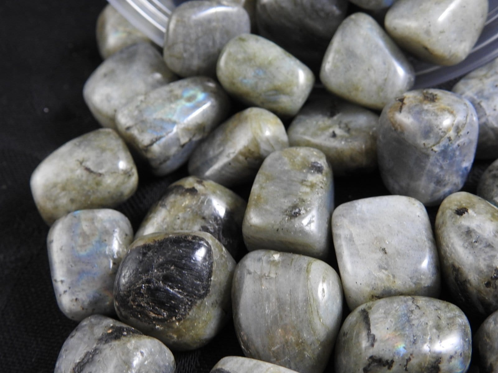Labradorite Tumbled 1 lb portion