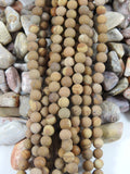 Bruno Jasper (6mm Rounds) Bead Strand