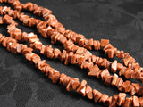 Large Goldstone Chips Bead Strand