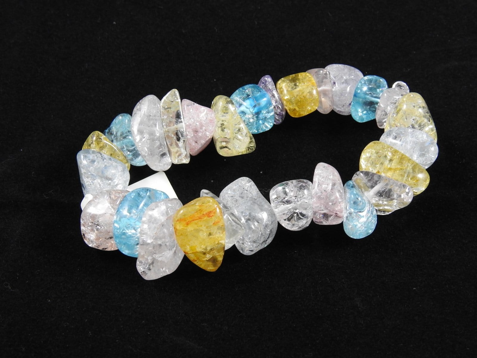 Crackled Quartz Bracelet