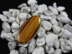 Tiger's Eye in Sterling Silver Pendant (4134)