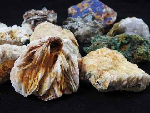 Mixed Moroccan Minerals (10 pc lot)