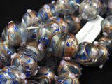 Bronze and Blue Glass Bead Strand (2025)