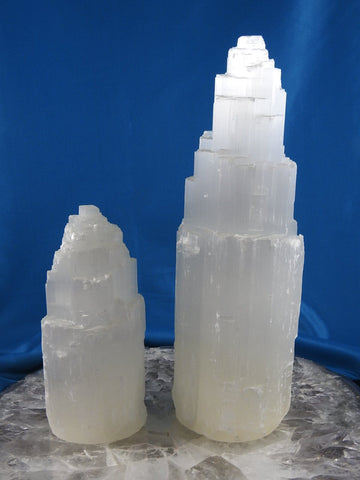 Selenite Natural Lamp (Three Sizes)