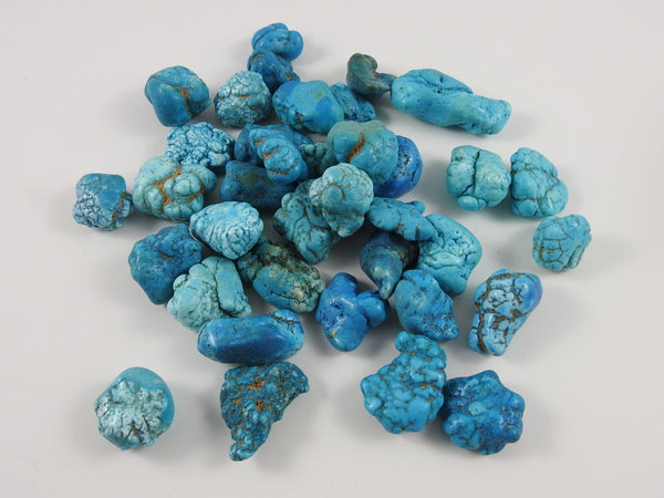 Blue Turquenite (Dyed Magnesite) 1 lb Portion