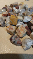Crazy Lace Agate Loose Tumbled (1 pc)