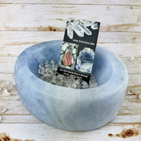 Blue Calcite Bowl