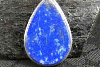 Lapis Lazuli in Sterling Silver Pendant