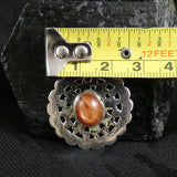 Sunstone in Sterling Silver Pendant