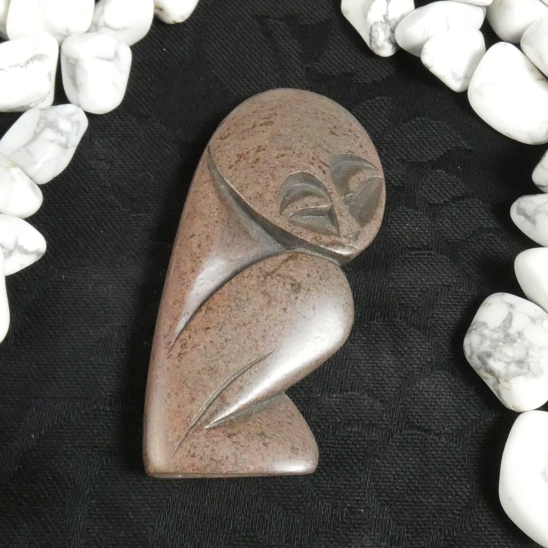 "Soapstone ""Child"" Carving"